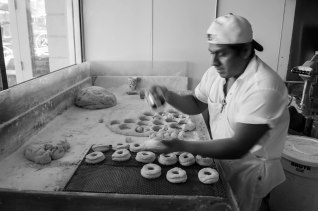 And then there is this guy... He is a bad ass donut making machine.