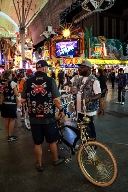 Triple H on Fremont Street hanging with GMOB
