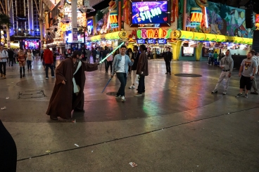 Star Wars on Fremont Street